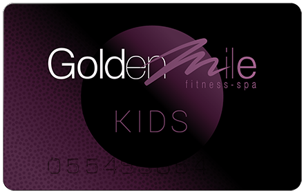Kids membership card